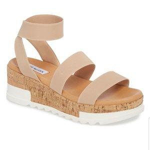Steve Madden Bandi Platforn Wedge Sandals